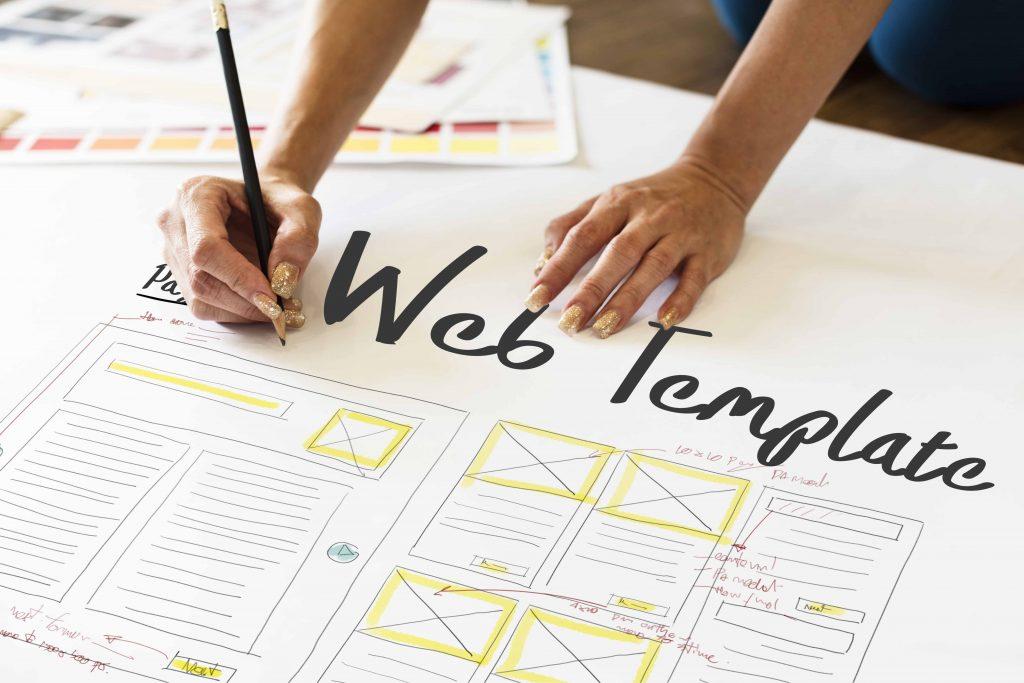 design maquette site internet