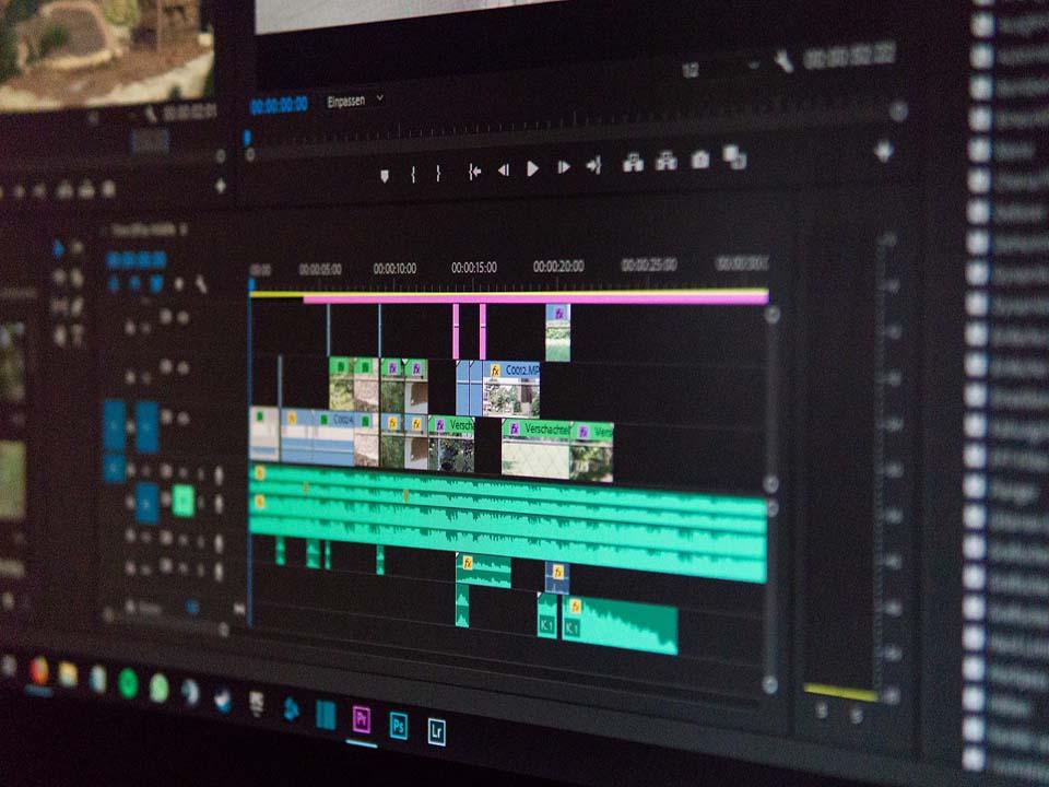 édition de vidéo avec adobe premiere