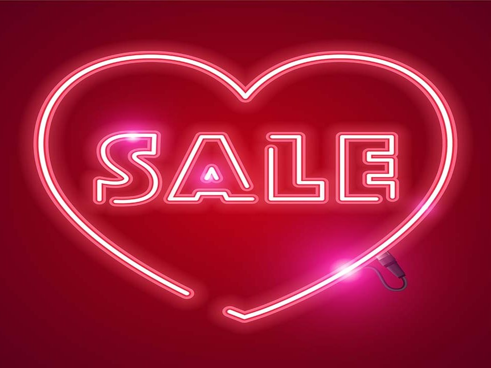 saint valentin marketing promotion sale